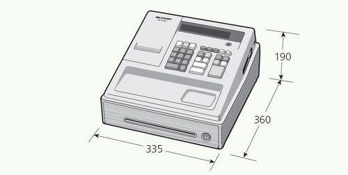 how to change department codes on sharp cash register